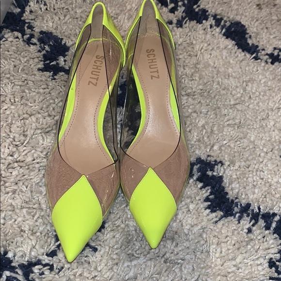 SCHUTZ Shoes   Schutz Nwot Neon Garthy
